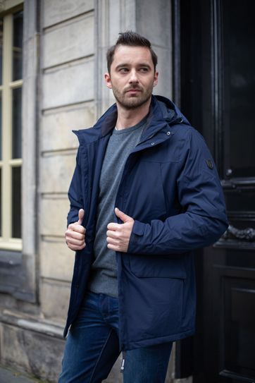 Tenson Jacket Harris Navy