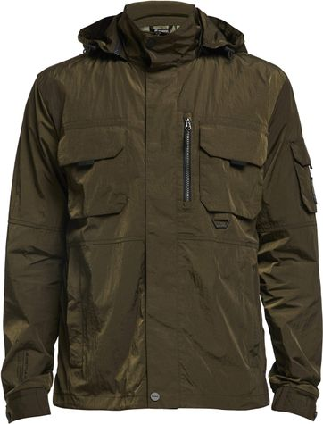 Tenson Jefferson Jacket Donkergroen