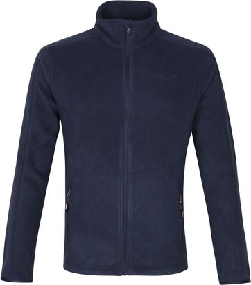 Tenson Miracle Fleece Jack Donkerblauw