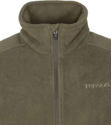 Tenson Miracle Fleece Jacket Olive Green
