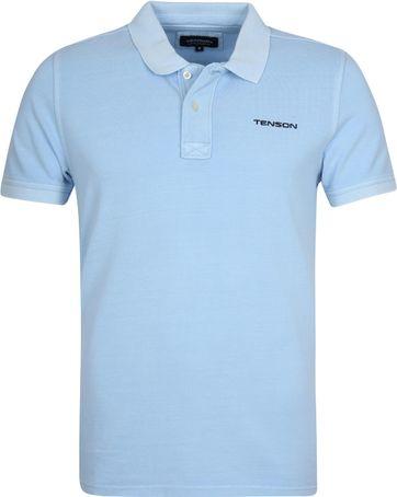Tenson Polo Einar Light Blue