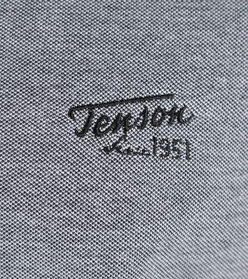 Detail Tenson Polo Grijs