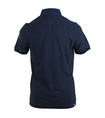 Detail Tenson Polo Navy Streep
