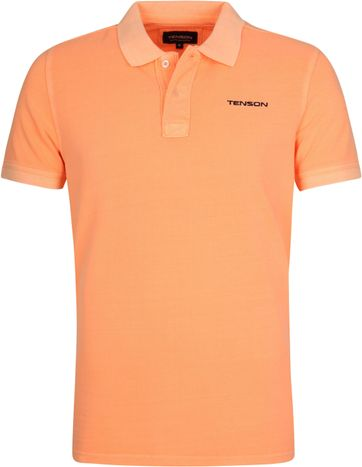 Tenson Polo Shirt Einar Orange