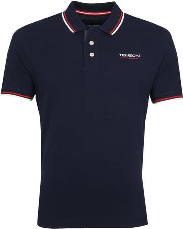 Tenson Poloshirt Barney Navy
