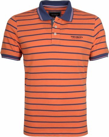 Tenson Poloshirt Gian Orange