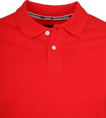 Tenson Poloshirt Zenith Rood