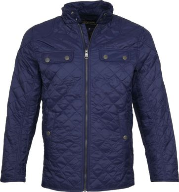 Tenson Samson Jacket Quilted Navy