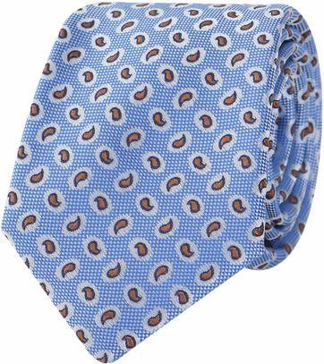 Tie Blue Paisley