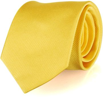 Tie Silk Yellow Uni F70