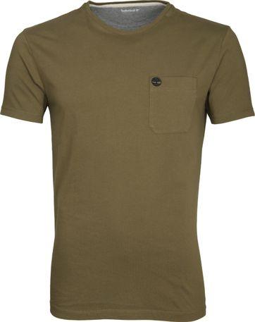 Timberland Dunstan T-shirt Olijfgroen