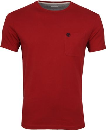 Timberland Dunstan T-shirt Rood