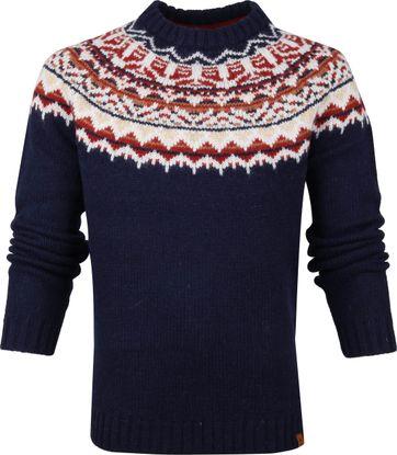 Timberland Fairsle Pullover Dunkelblau