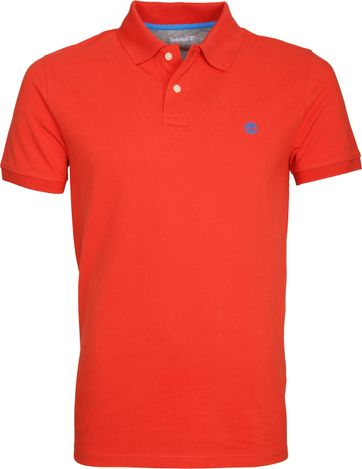 Timberland Miller Polo Uni Rot