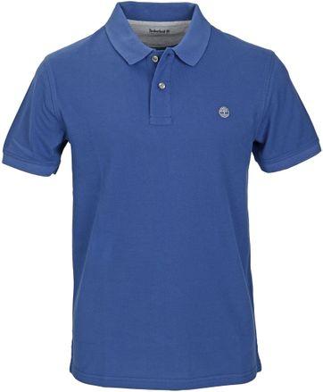 Timberland Polo Uni Blau