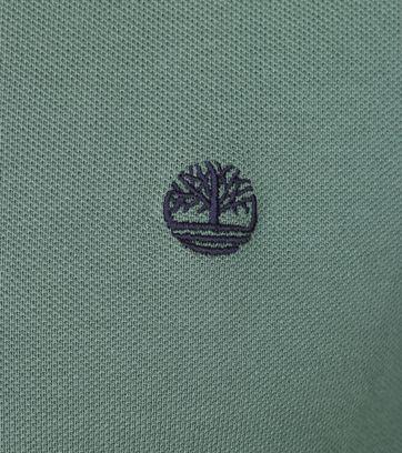 Detail Timberland Polo Uni Grün