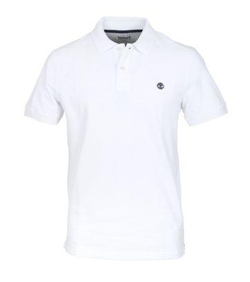Timberland Polo Uni Weiß