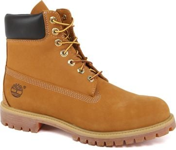 Timberland Premium 6 Inch Rust Boots Geel