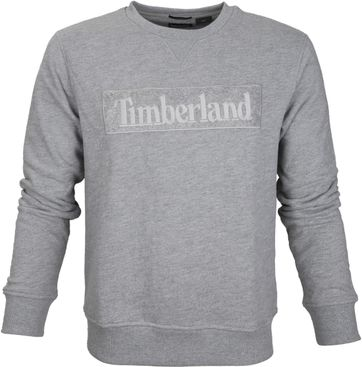 Timberland Sweater Grau Logo