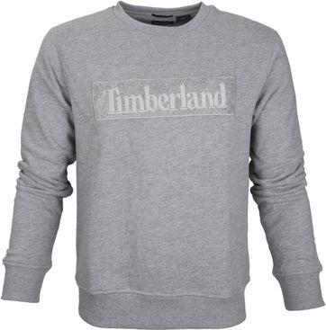 Timberland Sweater Grijs Logo
