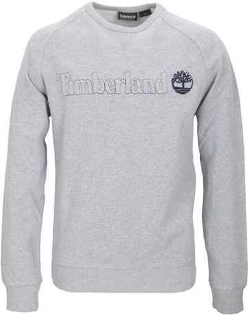 Timberland Sweater Grijs Raglan