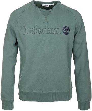 Timberland Sweater Groen Raglan
