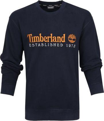 Timberland Sweater Logo Dunkelblau