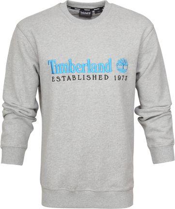 Timberland Sweater Logo Grau