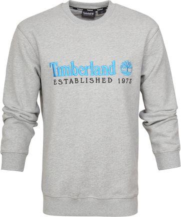 Timberland Sweater Logo Grijs