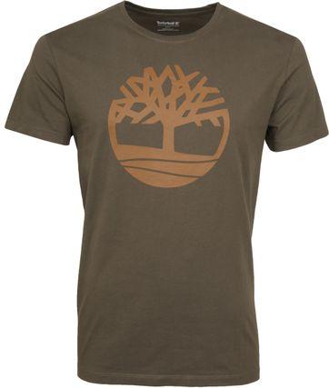 Timberland T-shirt Armee