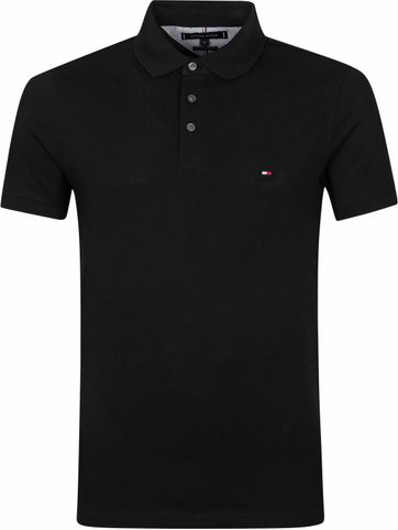 Tommy Hilfiger 1985 Polo Shirt Black