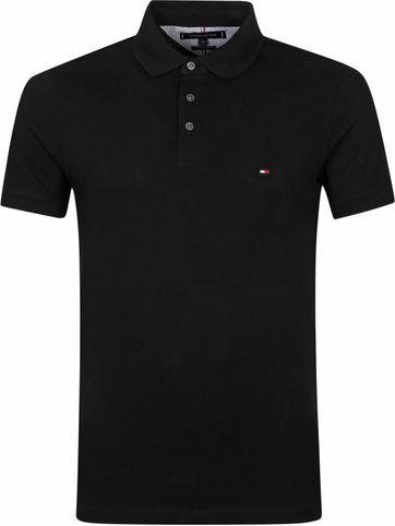 Tommy Hilfiger 1985 Polo Shirt Schwarz