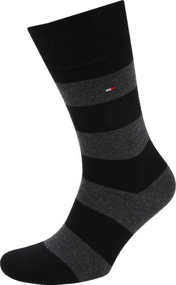Tommy Hilfiger 2-Pair Socks Stripe Uni Black