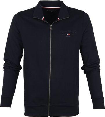 Tommy Hilfiger Artwork Cardigan Navy