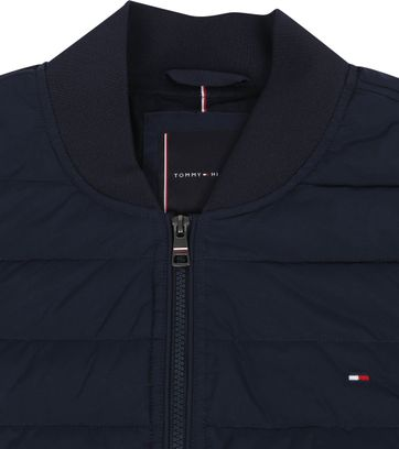 Tommy Hilfiger Big and Tall Bomber Jacke Navy