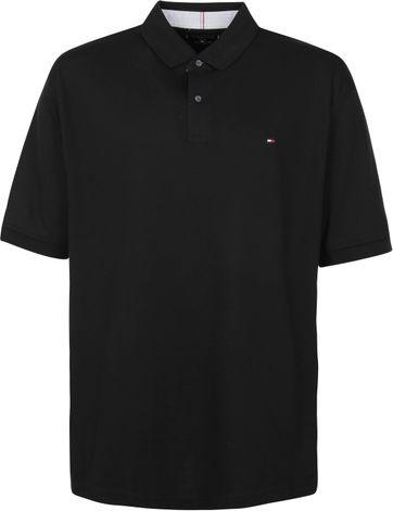 Tommy Hilfiger Big and Tall Polo Shirt Regular Black