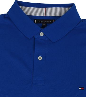 Tommy Hilfiger Big and Tall Polo Shirt Regular Blau