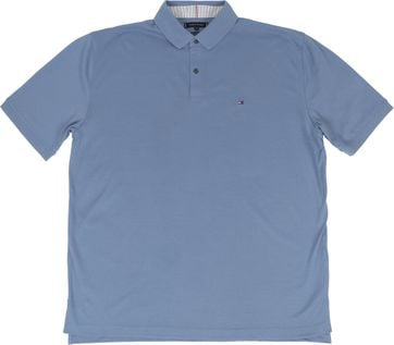 Tommy Hilfiger Big and Tall Polo Shirt Regular Indigo Blue