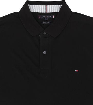 Tommy Hilfiger Big and Tall Polo Shirt Regular Schwarz