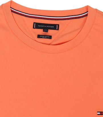 Tommy Hilfiger Big and Tall T-shirt Stretch Oranje