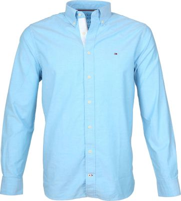 Tommy Hilfiger Blau Oxford Hemd