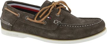 Tommy Hilfiger Boat Shoe Dark Green