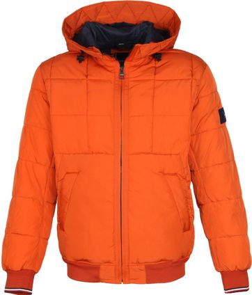 Tommy Hilfiger Bomber Jacke Orange