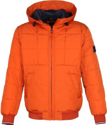 Tommy Hilfiger Bomber Jacke Orange