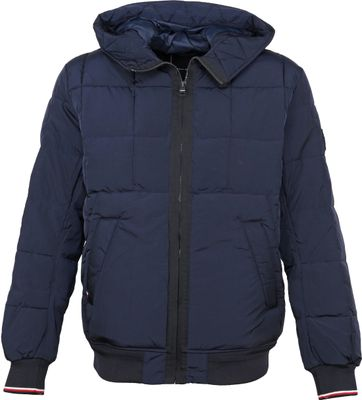 Tommy Hilfiger Bomber Jas Donkerblauw