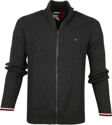 Tommy Hilfiger Cardigan Dark Grey