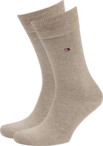 Tommy Hilfiger Classic 2-Pack Socken Beige