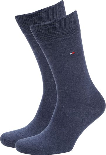Tommy Hilfiger Classic 2-Pack Socken Blau