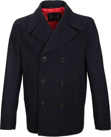 Tommy Hilfiger Coat Navy