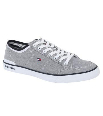Tommy Hilfiger Core Corporate Sneaker Grijs